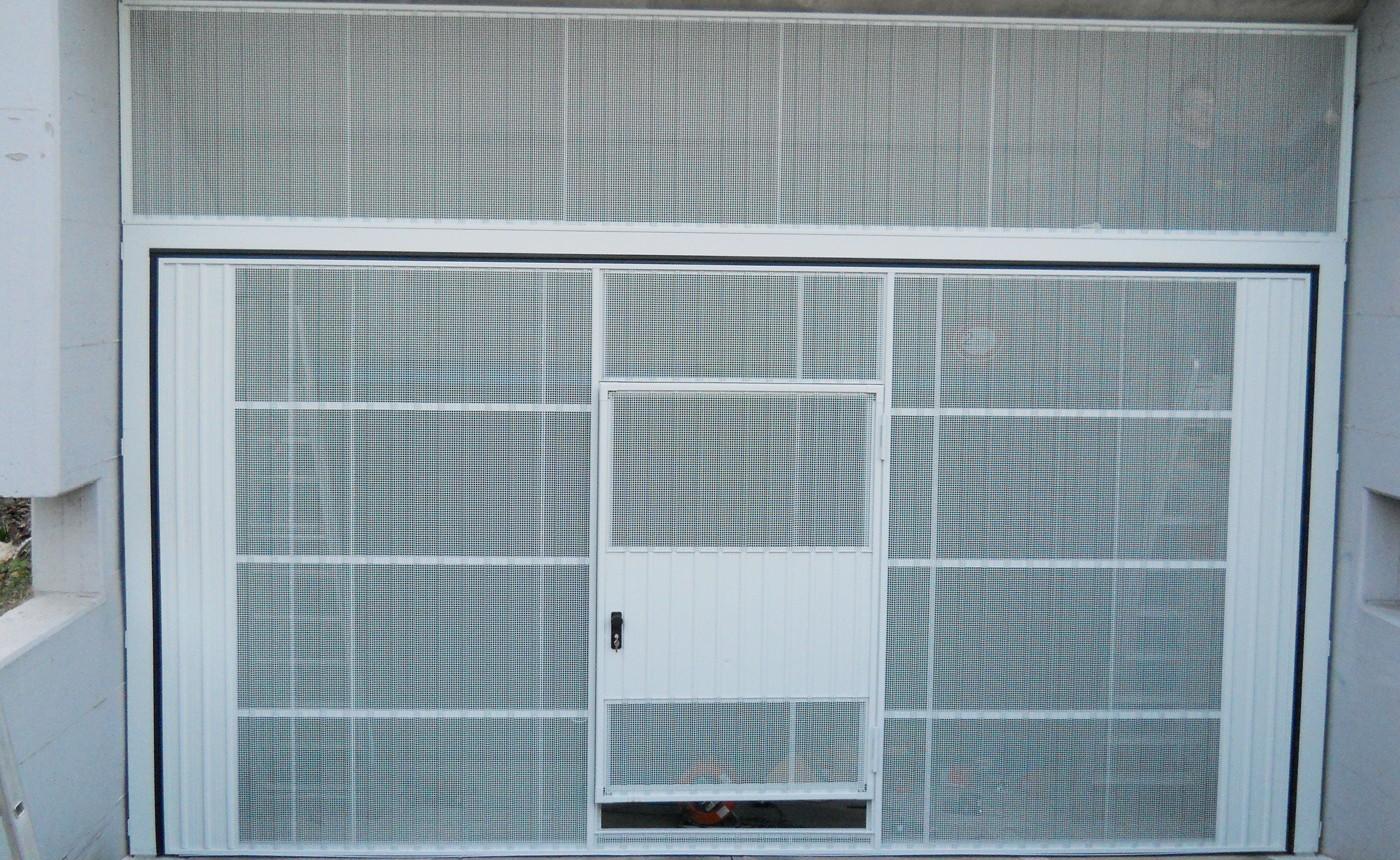 basculante microforata per rampa condominio - Edilbox snc - Forlì Cesena - Rimini - Ravenna - Faenza - Imola