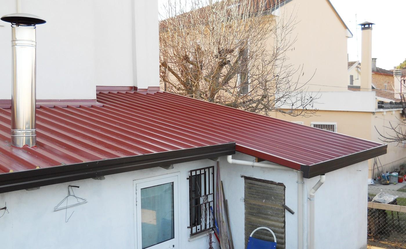 coperture coibentate e finto coppo - copertura abitazione pannello coibentato classico - Edilbox- Forlì Cesena - Rimini - Faenza - Ravenna - Imola