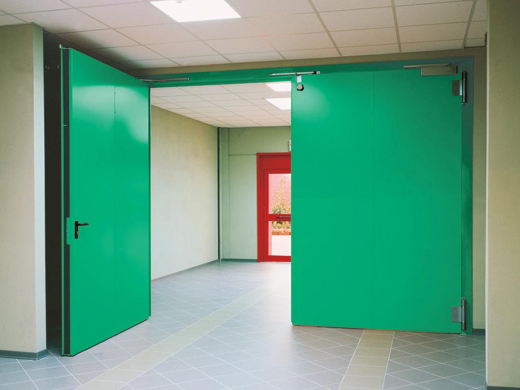 Porta tagliafuoco - porta battente - Edilbox snc - Forlì Cesena - Rimini - Faenza - Ravenna - Imola