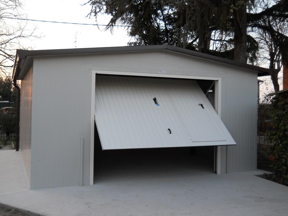 box coibentato a due falde - Edilbox snc - Forlì Cesena - Rimini - Ravenna - Faenza - Imola