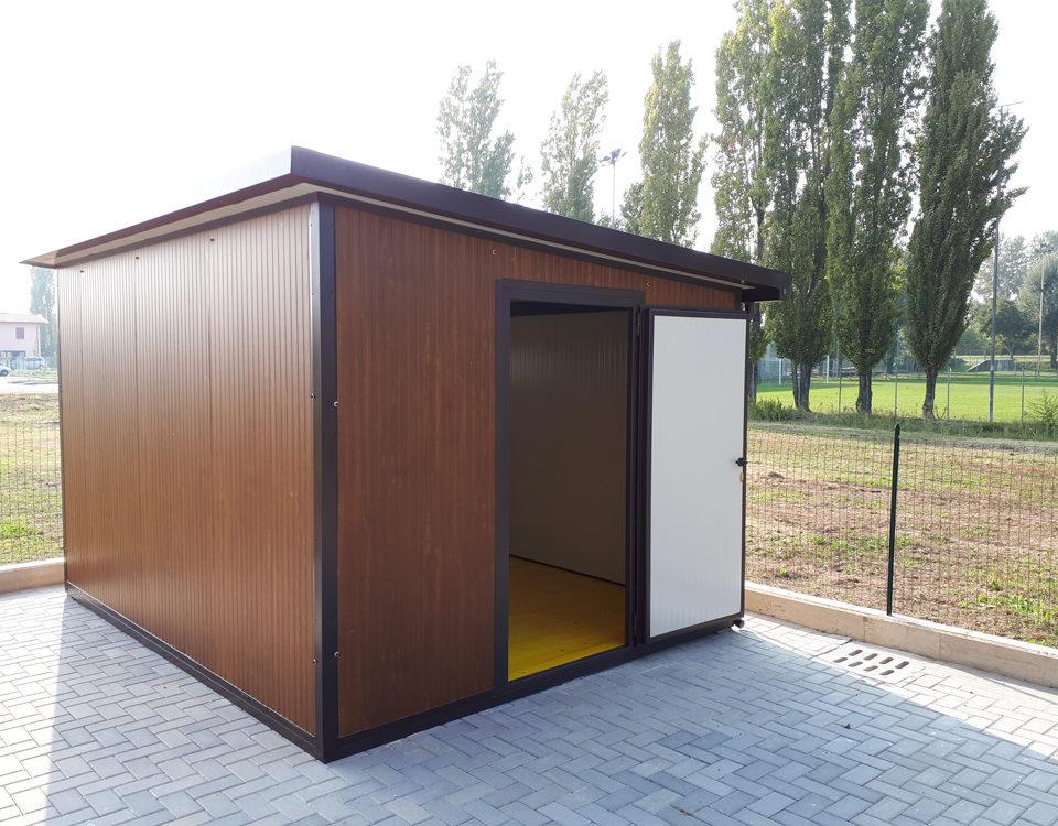 casetta da giardino con pannelli coibentati - Edilbox snc - Forlì Cesena - Rimini - Ravenna - Faenza - Imola